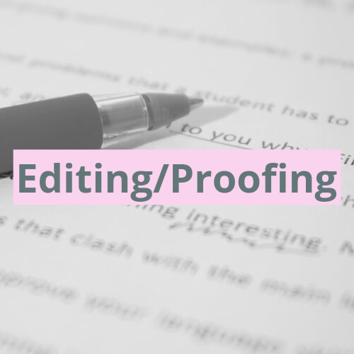 Proofreading corporate documents